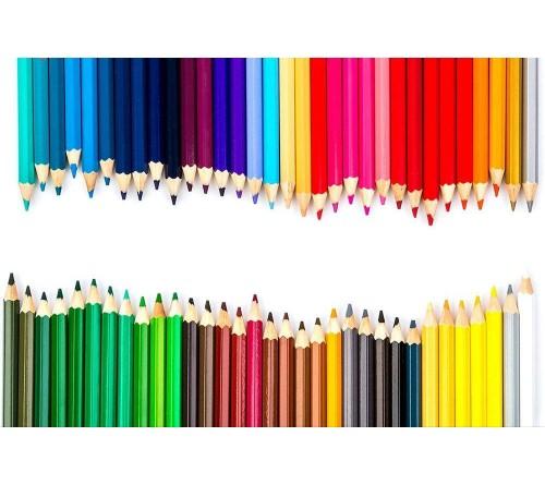 مداد رنگی ۶۵ رنگ نامبروان