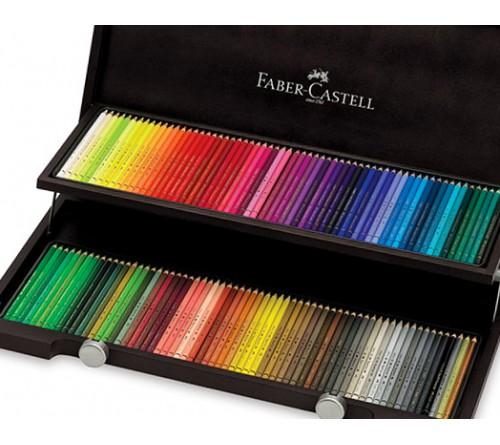 مداد رنگی پلی کروم 120 رنگ فابر کاستل مدل Polychromos
