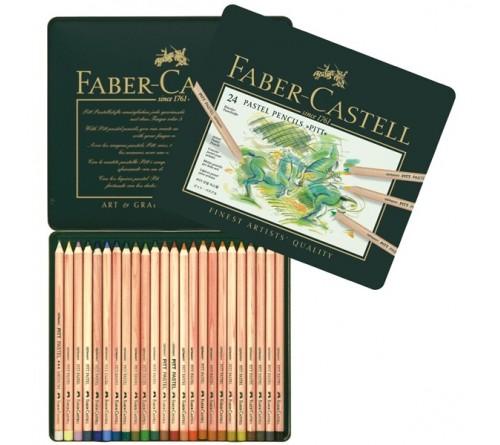 مداد پیت پاستل فابر کاستل 24 رنگ